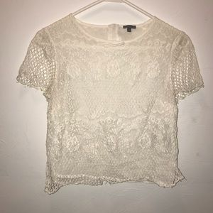Charlotte Russe Laced Top